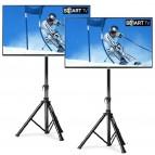 Divu 48''(122cm) LED TV ekrānu ar statīviem noma*