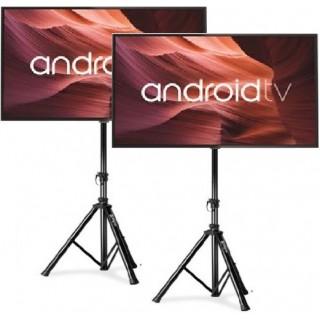 """Divu 55""""(140cm) LED TV ekrānu ar statīviem noma*"""