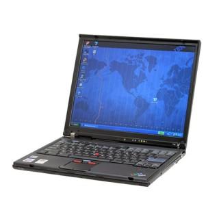 Izjaukts daļām IBM ThinkPad T43