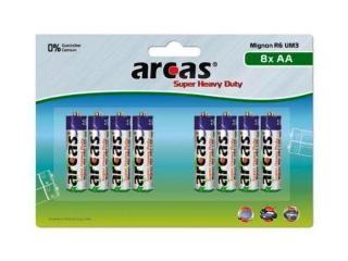 Battery Arcas R06 Mignon AA (8 Pcs.)