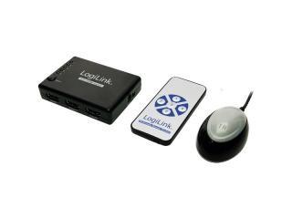 LogiLink Mini HDMI Switch 5 Port incl Remote control (HD0004)