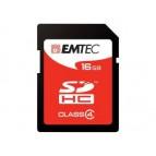 SDHC 16GB EMTEC Jumbo Super Blister CL4