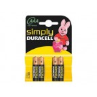 Batterie Duracell Simply MN2400/LR03 Micro AAA (4 Pcs)