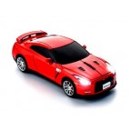 Wireless 2,4 GHz Mouse Nissan GT-R (R35) (red)