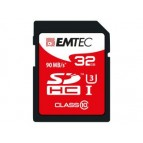 SDHC 32GB EMTEC CL10 PRO 90MB/s UHS-I U3 Blister