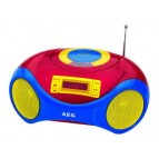 AEG Portable Stereo radio with CD SR 4363 CD Kids Line