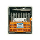 Jakemy JM-TP031 9 pcs Cross Bit Set 65mm PZ2