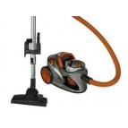 Clatronic floor vacuum cleaner BS 1294 Eco-clean 700W grey-orange