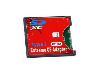 CF Card Adapter Extreme Type I for SD/SDHC/SDXC (Blister)