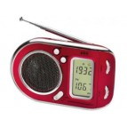 AEG Multi-band radio WE 4125 Red