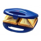 Clatronic Sandwichtoaster ST 3477 Blue-Inox
