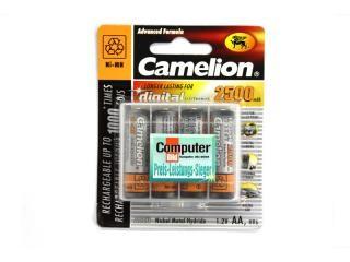 Rechargeable batteries Camelion AA Mignon 2500mAH (4 Pcs)