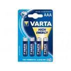 Batterie Varta HighEnergy LR03 Micro AAA (4 St.)