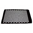 Shanti Acupressure Carpet / Nail mat (Black)