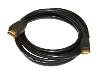 HDMI to Mini-HDMI High Speed with Ethernet cable (2,0 Meter)