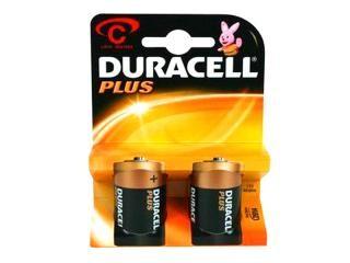 Batterie Duracell Plus MN1400/LR14 Baby C (2 pcs)