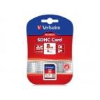 SDHC 8GB Verbatim Blister (Class 10) (43961)
