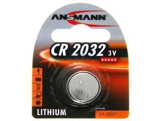 Batterie Ansmann Lithium CR2032 (1 St.)