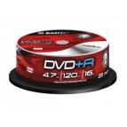 EMTEC DVD+R 4,7 GB 16x Speed - 25pcs Cake Box