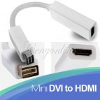 iMAC Mini DVI Male - HDMI adapters
